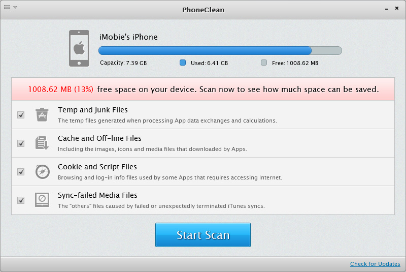 Phone Clean for mac