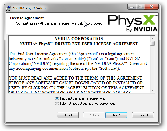 PhsyX Installer For Windows