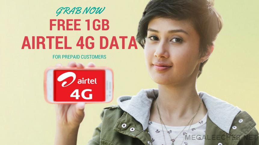 Airtel Free 4G Data Trick