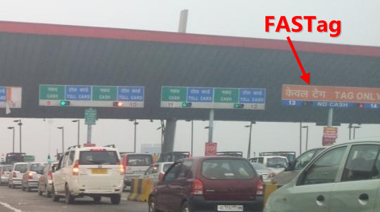 Fastag Prepaid Automated Electronic Toll Collection System For