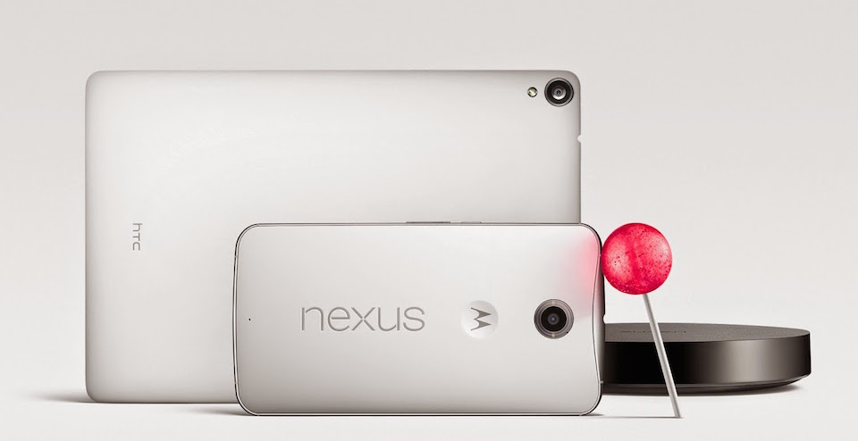 Google New Nexus Family With Android 5.0