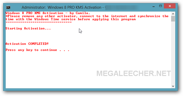 win 8 pro activation crack