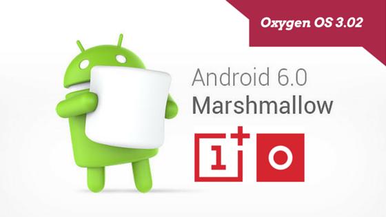 OnePlus2 Oxygen OS 3.02 Android Marshmellow