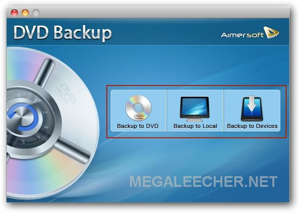 Aimersoft DVD Backup for Mac
