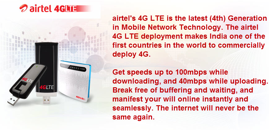 airtel 4g introduction