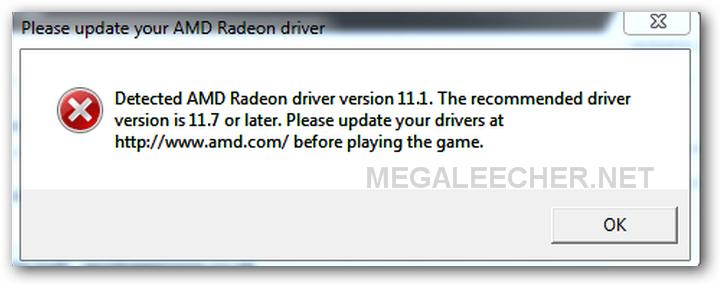 RADEON error