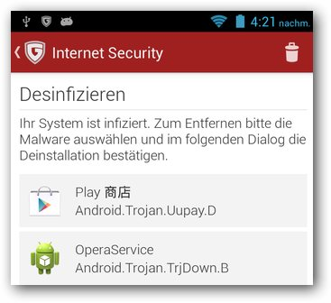 China Android Spyware