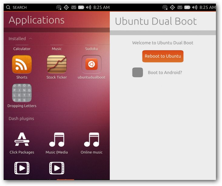 Android-Ubuntu Dual Boot