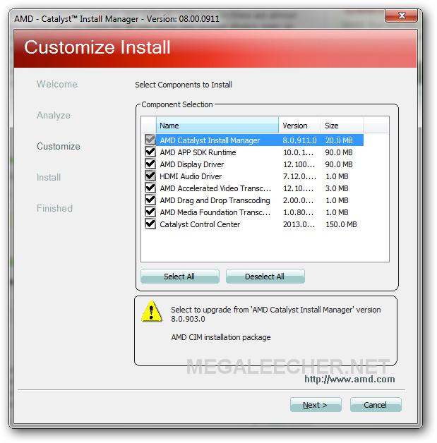 ATI Radeon Installer