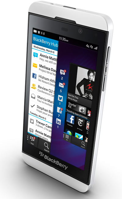 BlackBerry Z30 review: A polished business phablet, lacking a lighter side