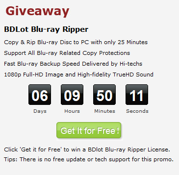 BDLot Blu-ray Ripper Free Key