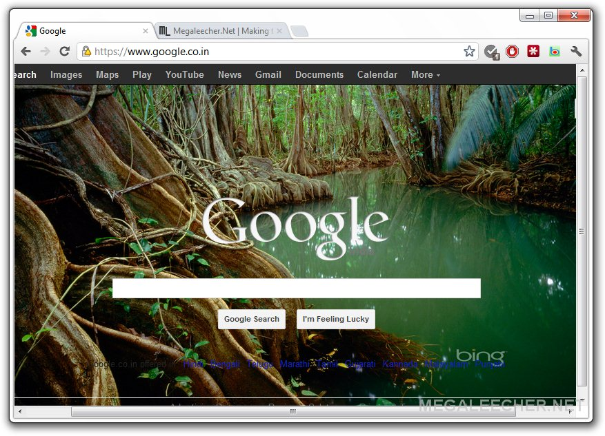 How to automatically rotate bing picasa or flickr for Homepage wallpaper