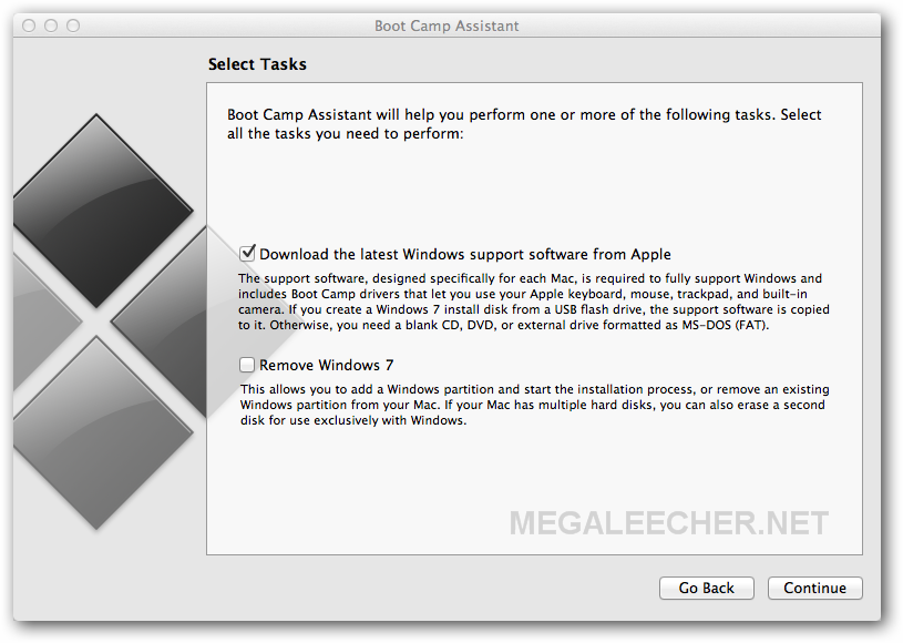 Reinstalling BootCamp Windows Support Drivers ...