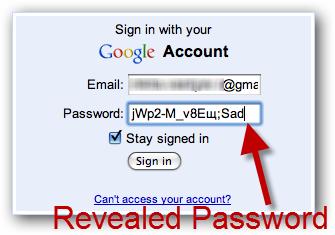 Password Reveler