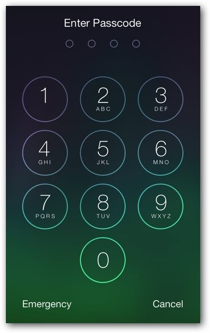 Apple iOS 7 Hack