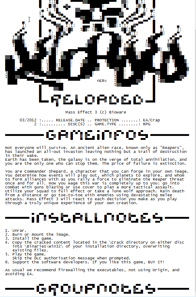 Mass Effect For PC