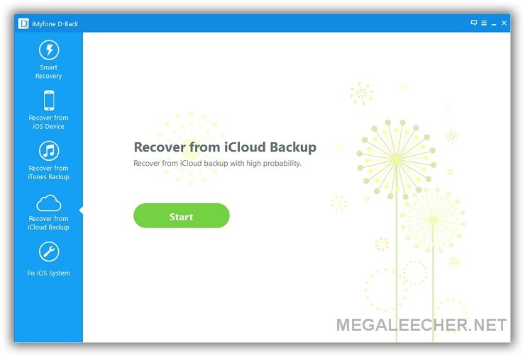 Recover Deleted Data from iCloud Backup file