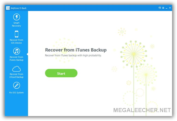 Recover Deleted Data from iTunes backup file