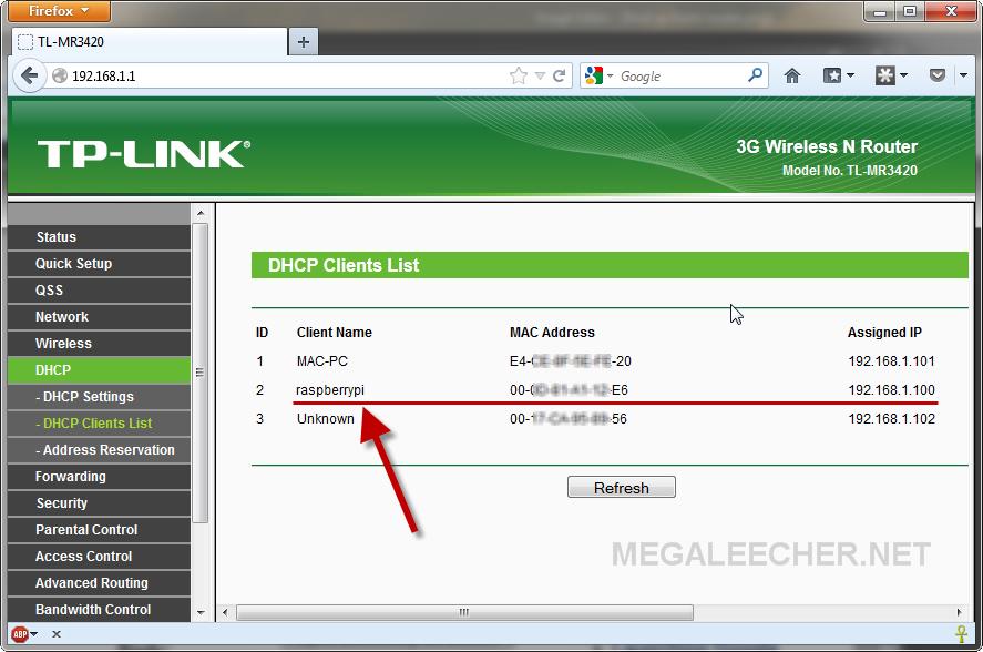 DHCP IP