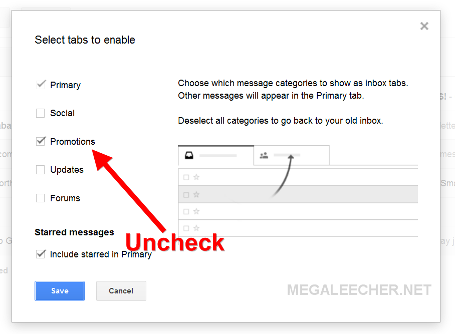 How to get rid of dating sites in gmail