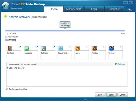 EaseUS Todo Backup Workstation