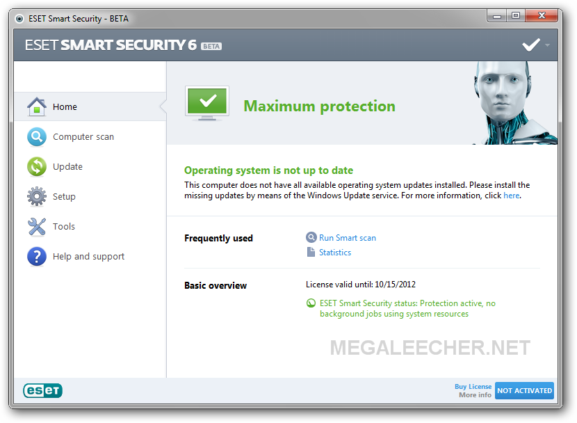 Download Eset Smart Security 6 And Eset Nod32 Antivirus