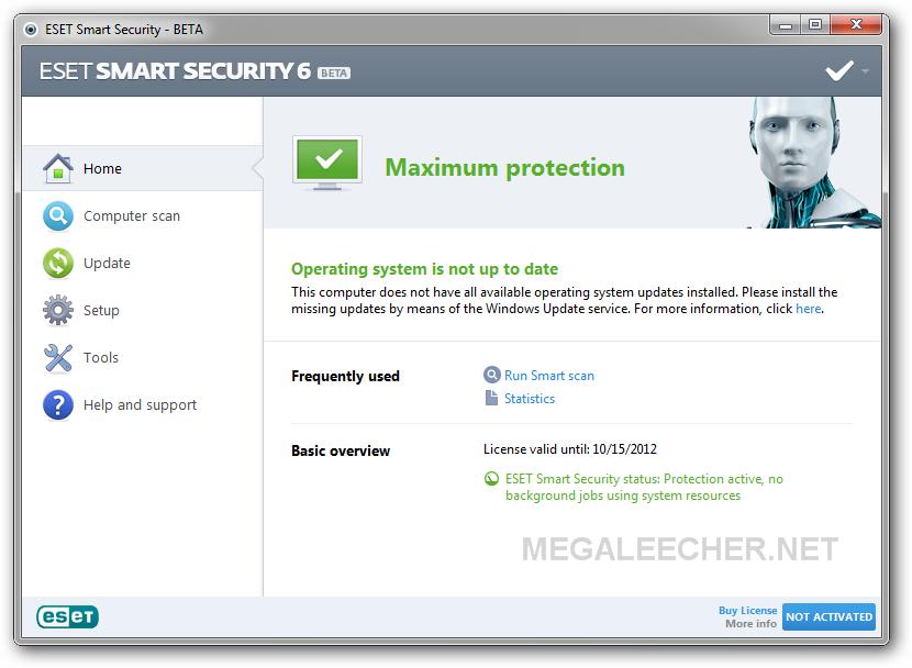 eset smart security 6 ativador