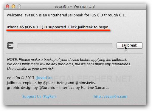 evasi0n for iOS 6.1.1