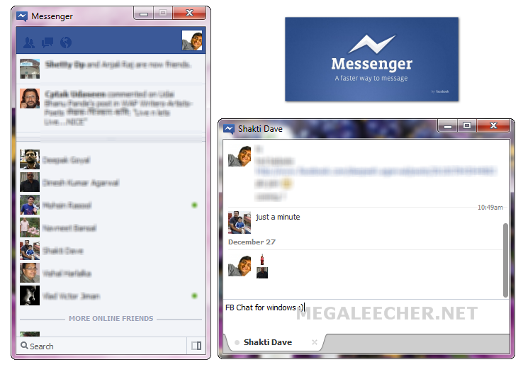 Native Facebook Messenger On Windows