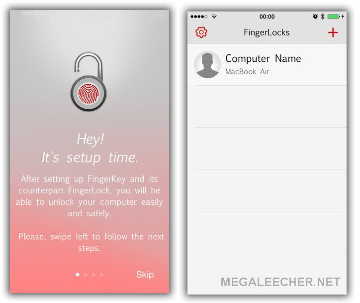 FingerKey Unlocker