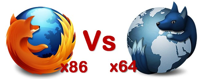 Firefox 32 Bit Vs WaterFox 64 Bit