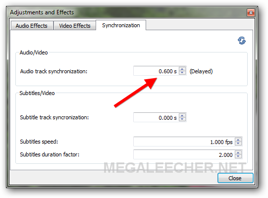 Fixing Audio-Video Sync And Saving The Results | Megaleecher Net
