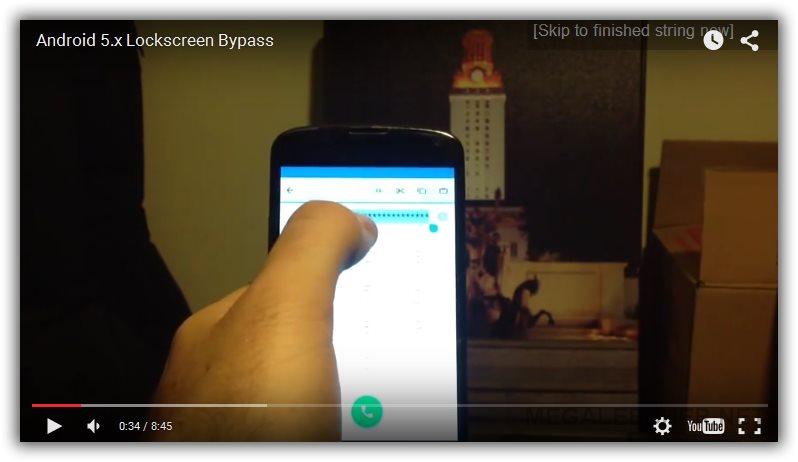 Android Lockscreen Password Hacking