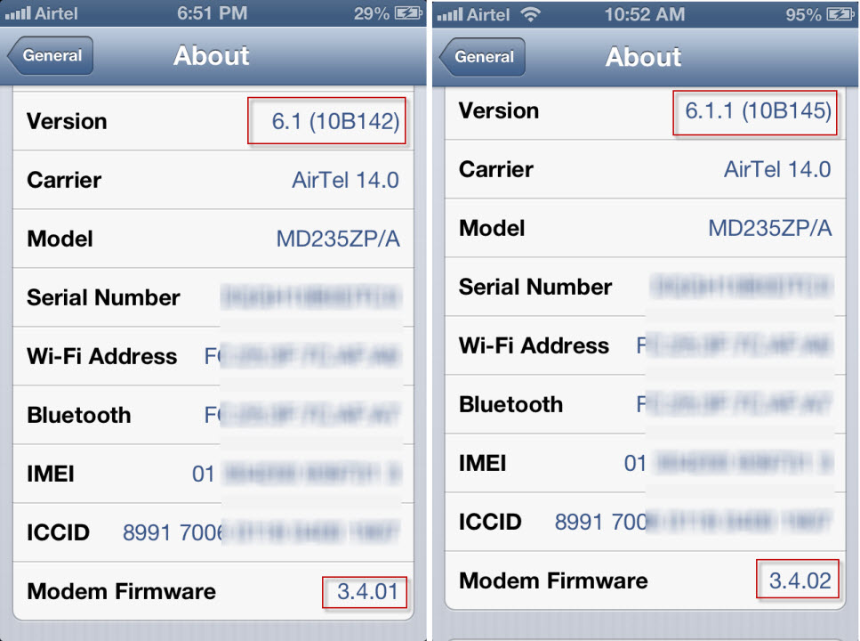 Apple iOS 6.1.1
