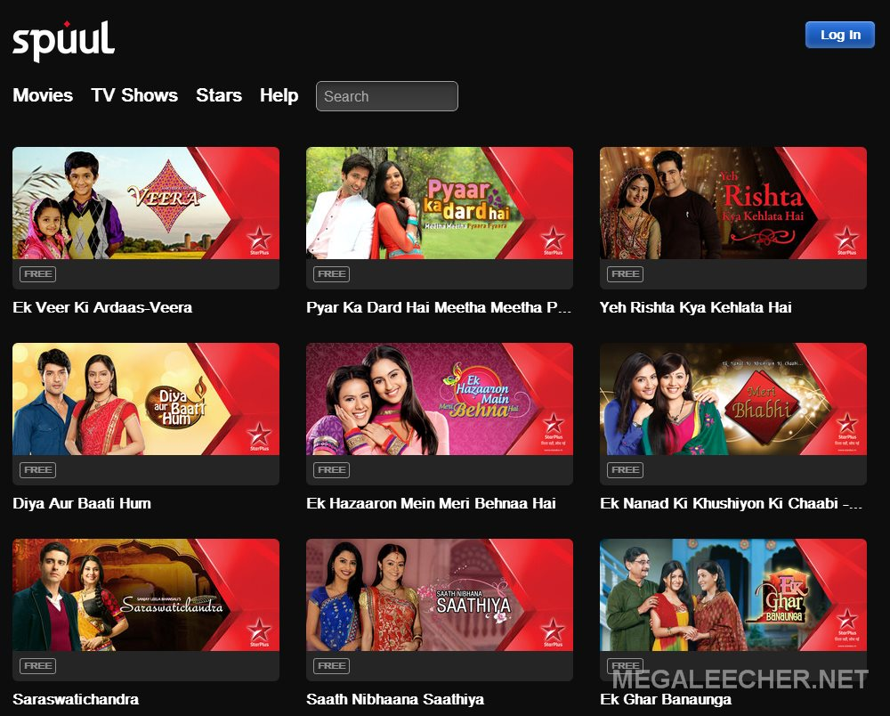 Indian TV Show Streaming