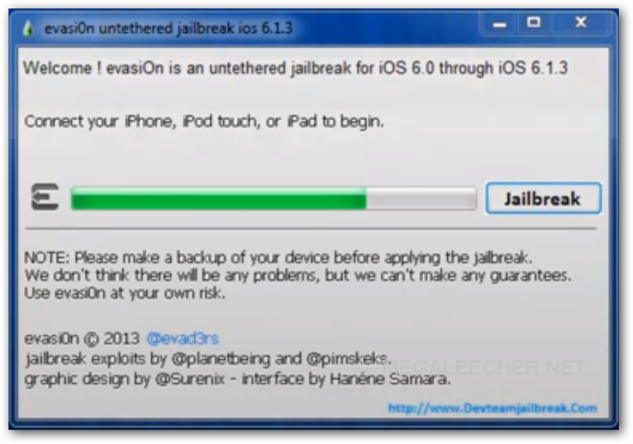 Apple iOS 6.1.3 Jailbreak Using evasi0n