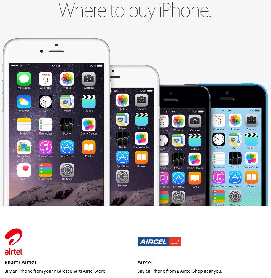 Apple iPhone 6, 6 Plus India Pricing Announced