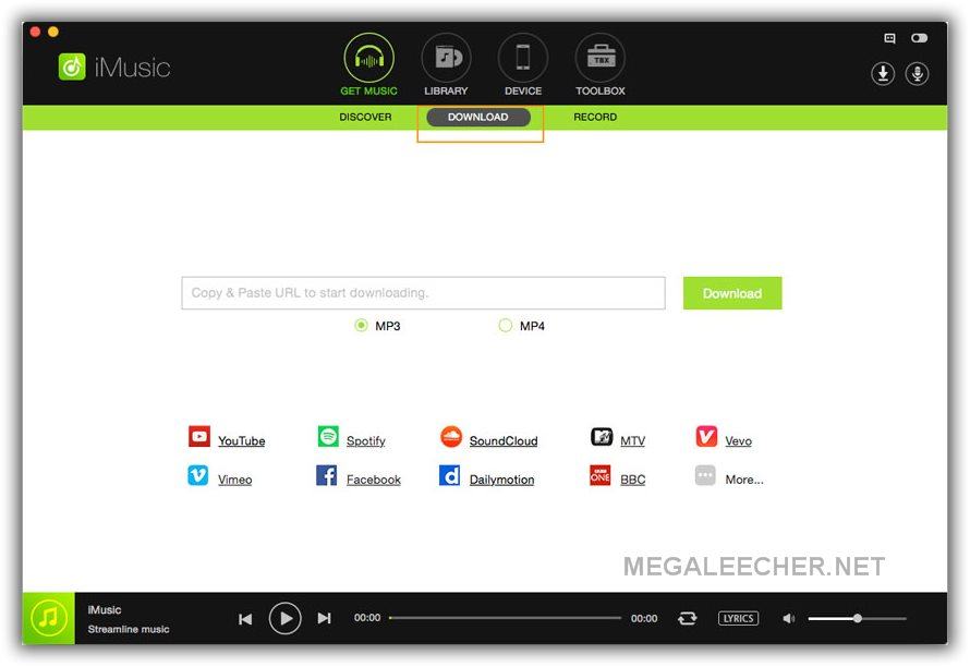 iMusic- All-in-one music downloader and recorder