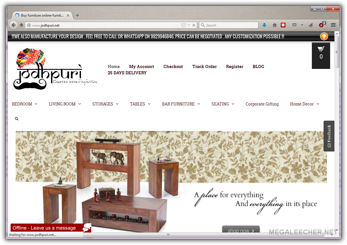 Jodhpuri Net The Online Destination To Buy Indian Furniture At Best Price Megaleecher Net