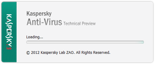 Kaspersky setup start