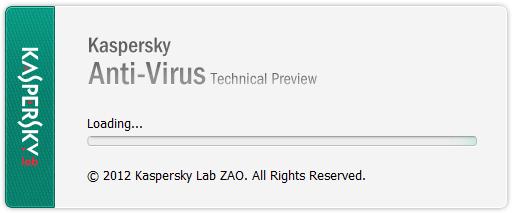Kaspersky setup start