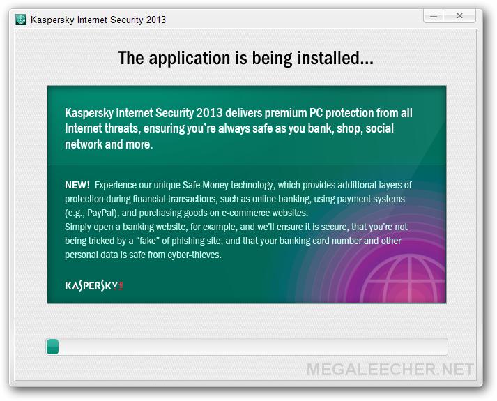 Kaspersky Internet Security 2013 FINAL activation codes
