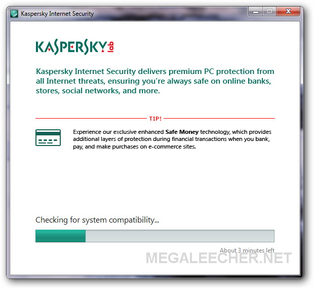 Kaspersky Internet Security 2104 Setup