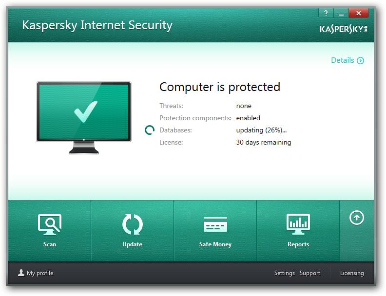 kaspersky antivirus database update offline