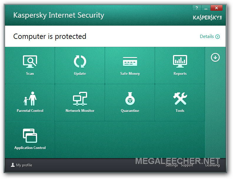Kaspersky Internet Security 2104 Configuration