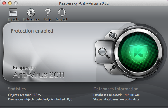 Kaspersky Antivirus 2011 For Mac