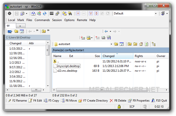 Autostarting Applications and Scripts After Launch Of LXDE