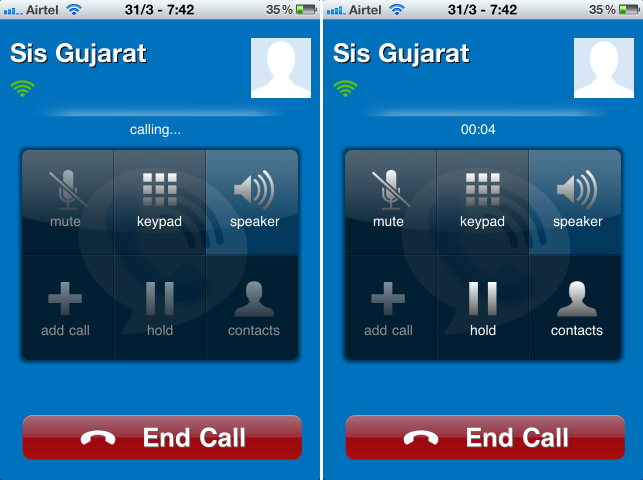 maaii VOIP On Apple iPhone