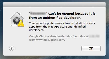MAC Gatekeeper Restriction