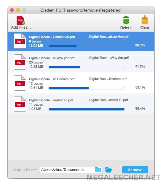 unlock multiple pdf files online